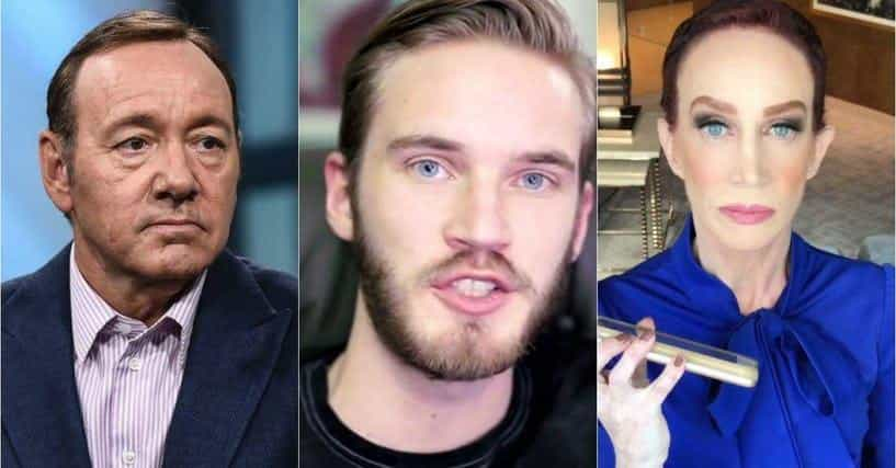 The 10 Worst Celebrity Falls From Grace Of 2018 | Chaostrophic