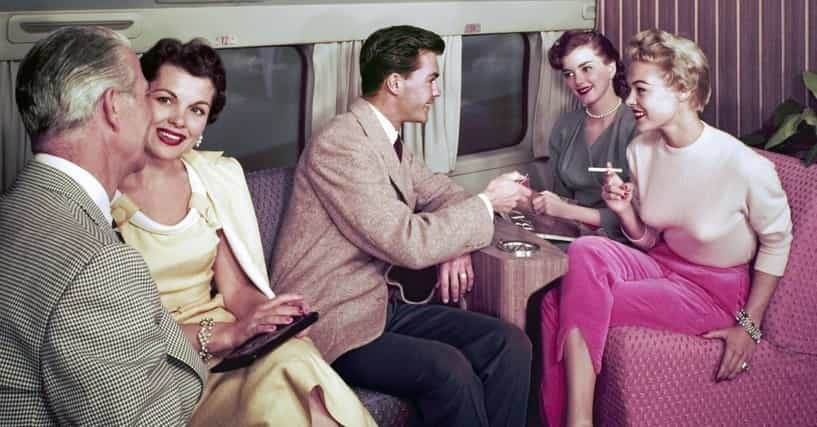 What Your Day Was Like On A Trip During The Golden Age Of Flying