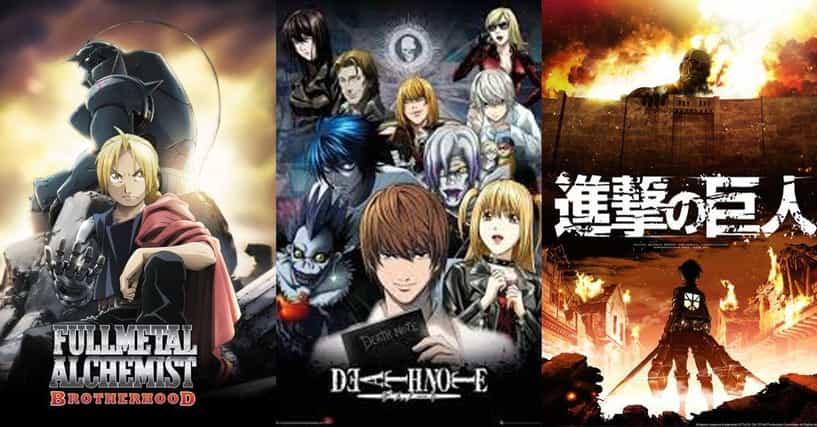 List Of Top Anime