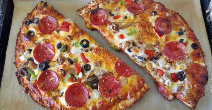 how to make frozen pizza in microwave