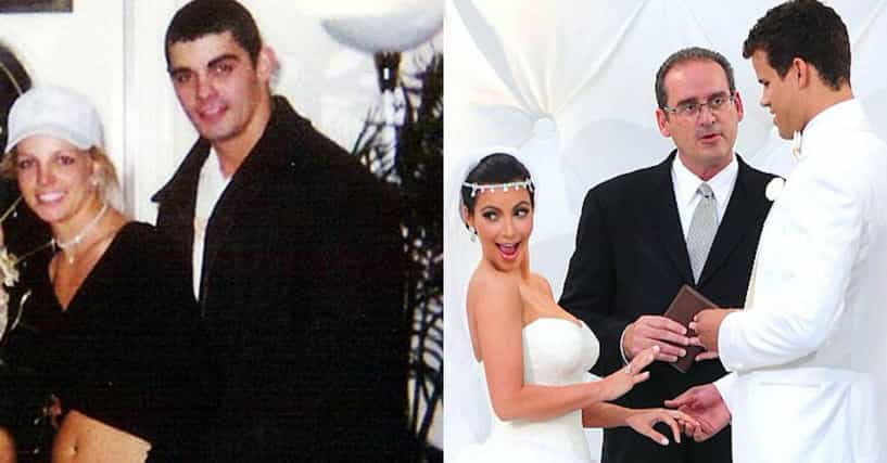 The Shortest Celebrity Marriages