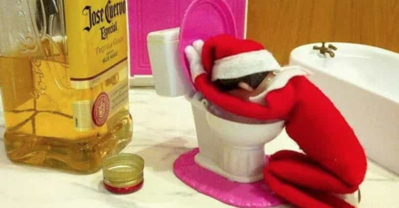 40 Funny Photos Of Elf On The Shelf Gone Bad