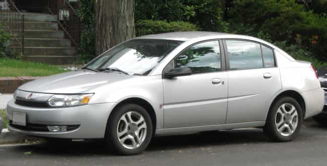 Saturn Ion Is Listed Or Ranked 4 On The List Full Of