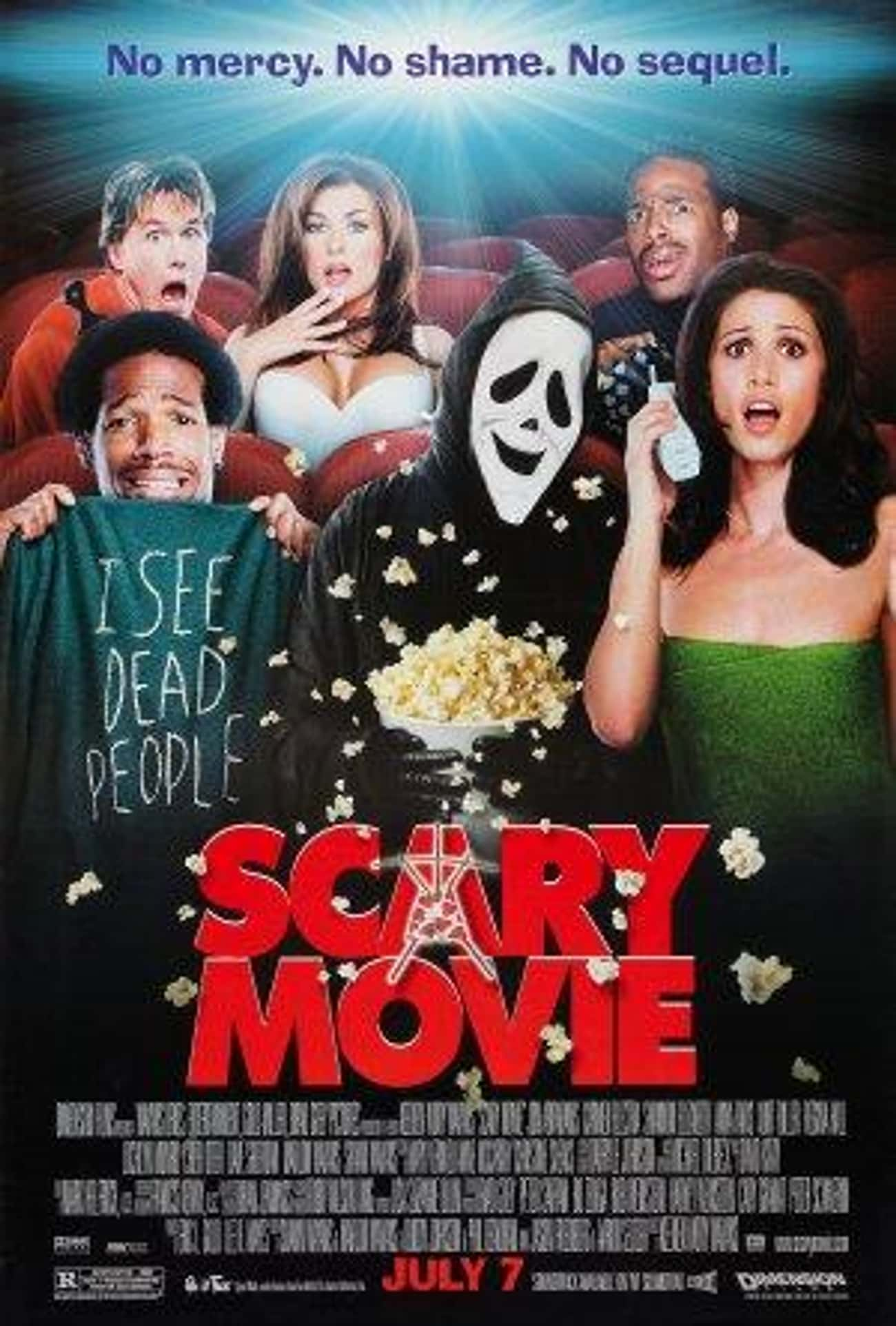 Scary Movie is listed (or ranked) 2 on the list The Funniest Teen Parody Movies, Ranked