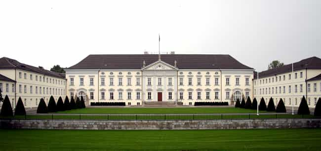 Bellevue Palace is listed (or ranked) 1 on the list List of Famous Berlin Buildings & Structures