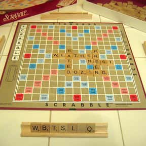 Scrabble is listed (or ranked) 21 on the list The Best Board Games for 4 People