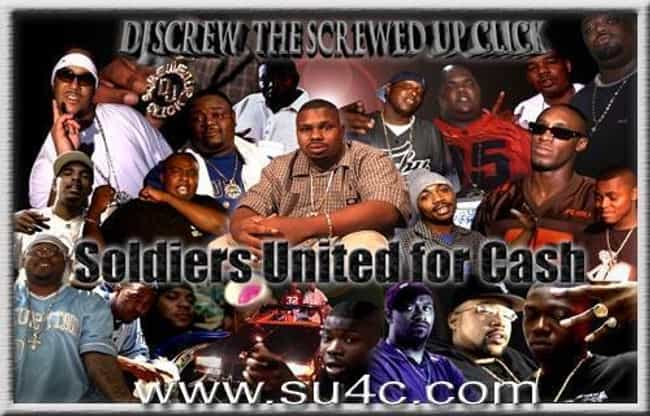 Screwed Up Click is listed (or ranked) 2 on the list The Best Chopped And Screwed Groups/Artists