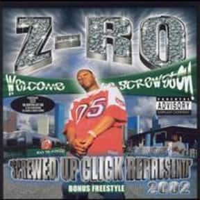 Screwed Up Click Representa' is listed (or ranked) 8 on the list The Best Z-Ro Albums of All Time