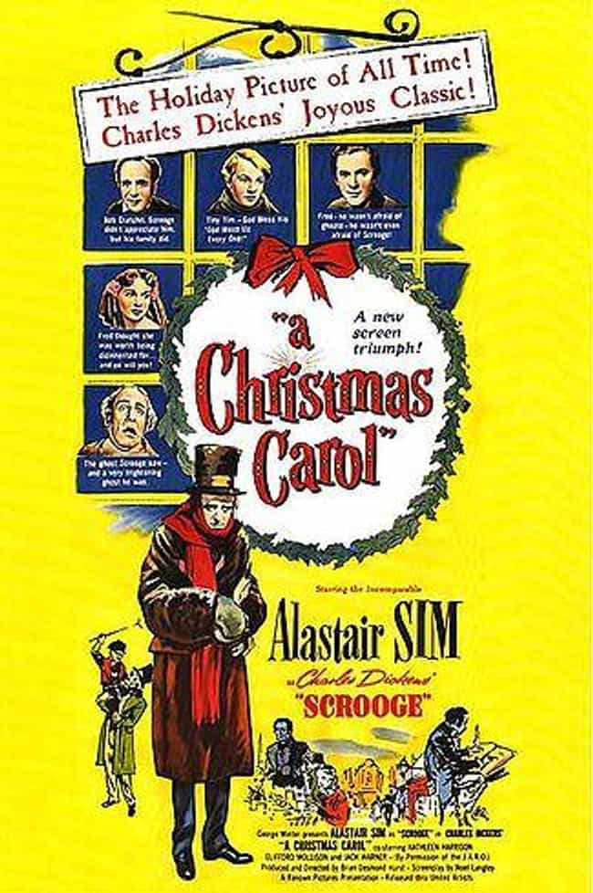 Scrooge is listed (or ranked) 2 on the list The Best '50s Christmas Movies