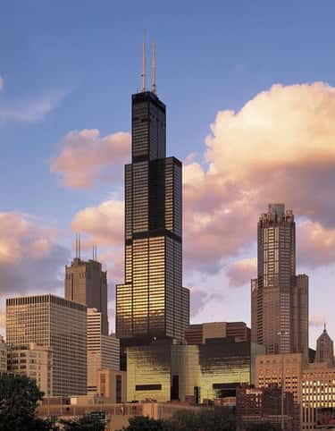 Willis Tower is listed (or ranked) 2 on the list The Tallest Buildings in America