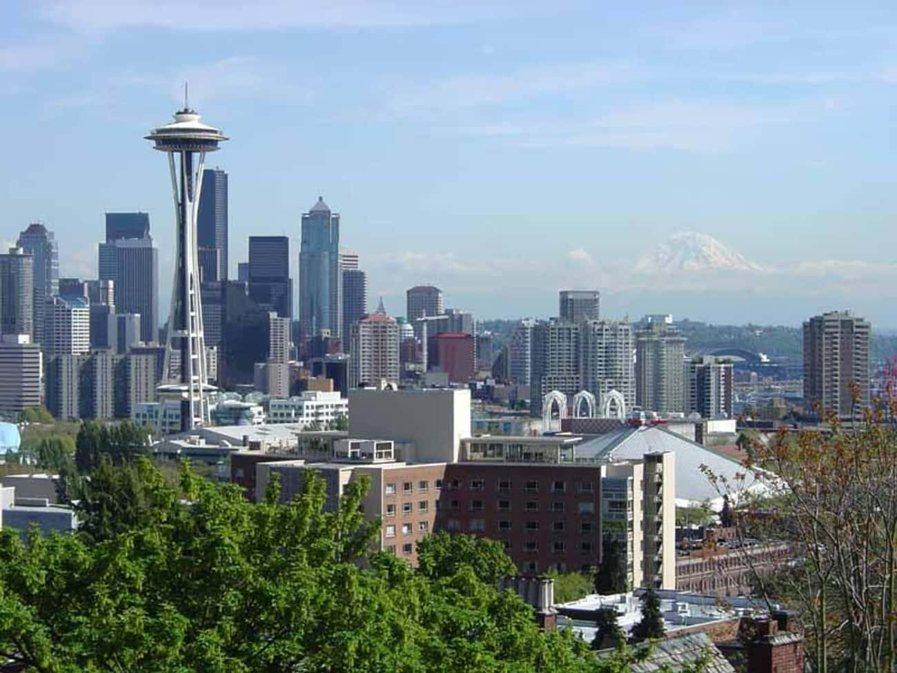 Seattle is listed (or ranked) 3 on the list The Coolest Cities in America