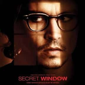 Secret Window is listed (or ranked) 7 on the list The Best Movies About Writers