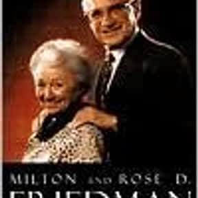 Two Lucky People: Memoirs is listed (or ranked) 16 on the list The Best Milton Friedman Books