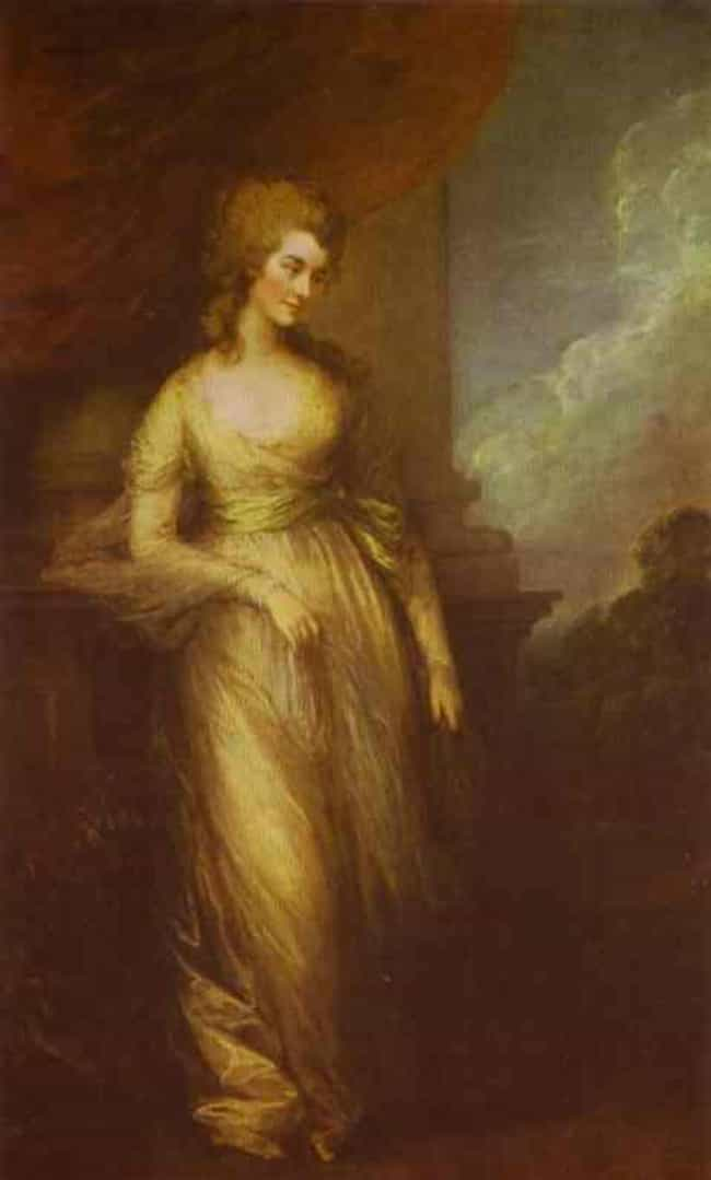Georgiana, Duchess of De... is listed (or ranked) 1 on the list Famous Thomas Gainsborough Paintings