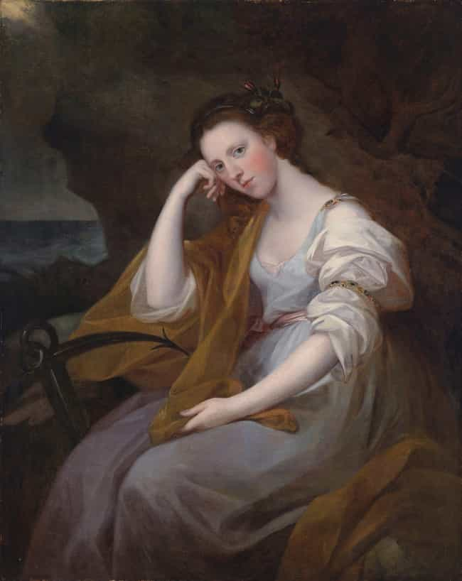 Portrait of Lady Louisa ... is listed (or ranked) 3 on the list Famous Angelica Kauffmann Paintings