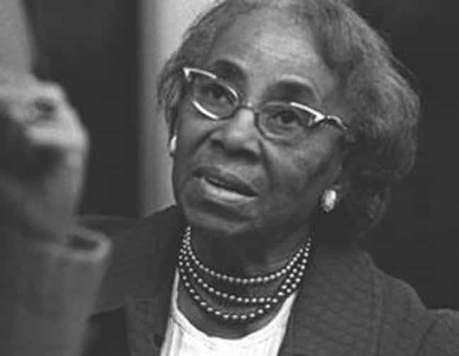 Septima Poinsette Clark ... is listed (or ranked) 1 on the list Famous Benedict College Alumni