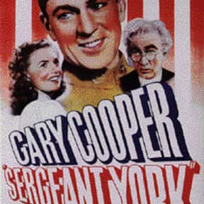 Sergeant York is listed (or ranked) 25 on the list The Most Patriotic Movies of All Time