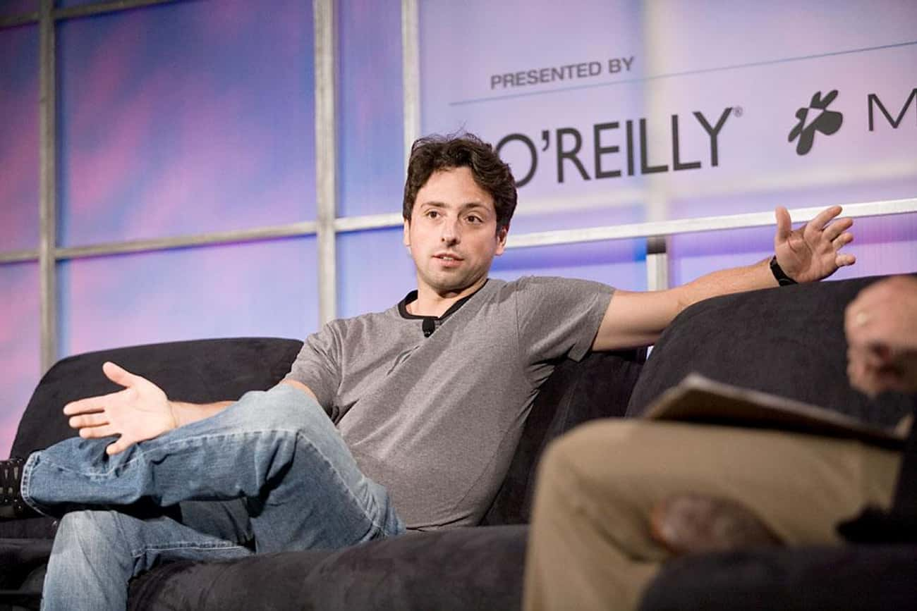 Sergey Brin is listed (or ranked) 4 on the list Famous People who Majored in Computer Science