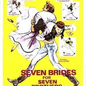 Seven Brides for Seven Brother is listed (or ranked) 17 on the list The Best Musical Love Story Movies
