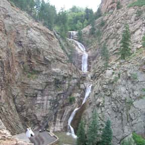 Seven Falls is listed (or ranked) 24 on the list List of Waterfalls in the US
