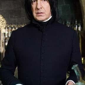 Professor Severus Snape is listed (or ranked) 8 on the list The Best Movie Characters Of All Time
