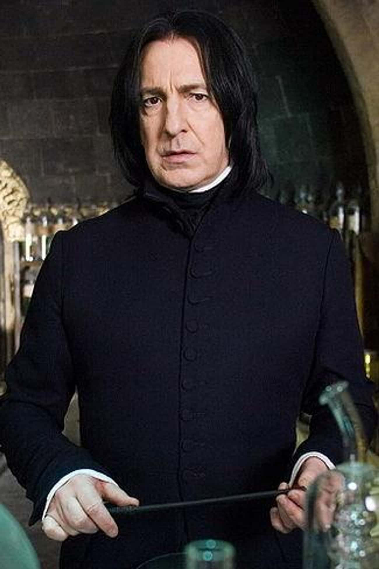 Severus Snape is listed (or ranked) 2 on the list The Best Members of Slytherin