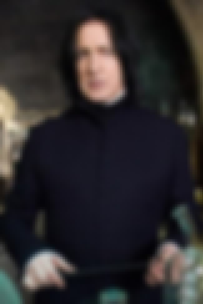 Professor Severus Snape is listed (or ranked) 1 on the list The Best Members of Slytherin