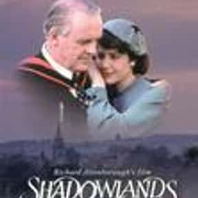 Shadowlands is listed (or ranked) 20 on the list The Best Broadway Plays of the '90s