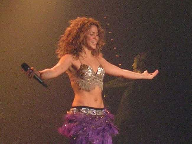 Shakira is listed (or ranked) 3 on the list The Most Stunning Women in Rock History, Ranked