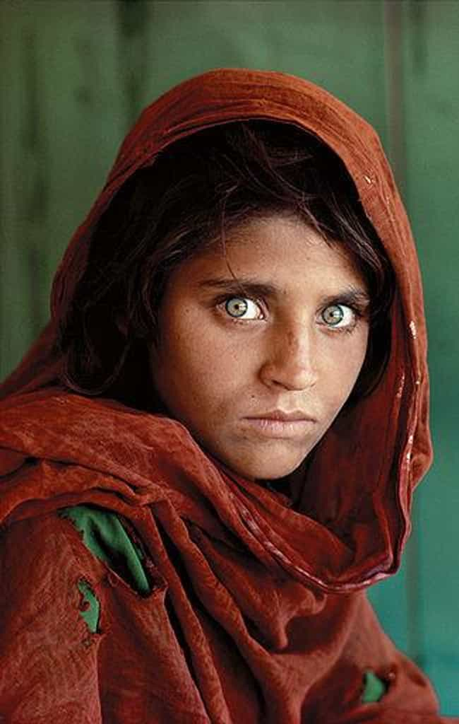 Afghan Girl is listed (or ranked) 4 on the list Famous Female Homemakers