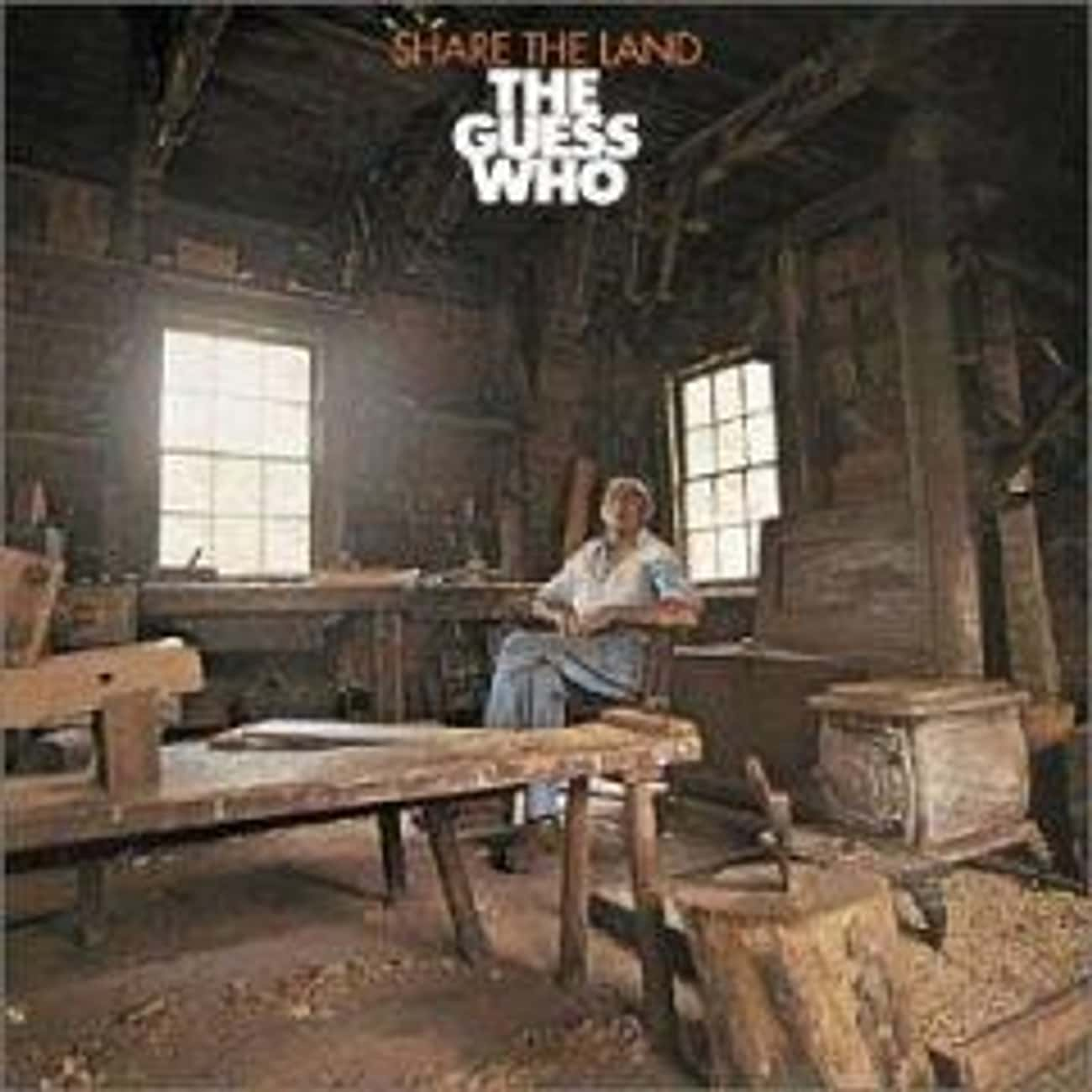 Share the Land is listed (or ranked) 1 on the list The Best Guess Who Albums of All Time