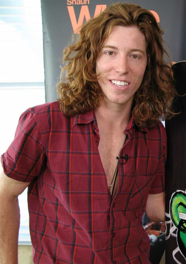 dd37f137649323 Shaun White is listed (or ranked) 1 on the list Famous Male Snowboarders