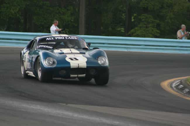 Shelby Daytona is listed (or ranked) 3 on the list Full List of Shelby Models