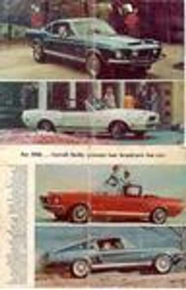Shelby GT500 is listed (or ranked) 1 on the list Full List of Shelby Models