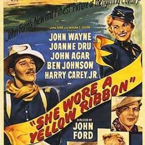 She Wore a Yellow Ribbon is listed (or ranked) 4 on the list The Best 1940s Western Movies