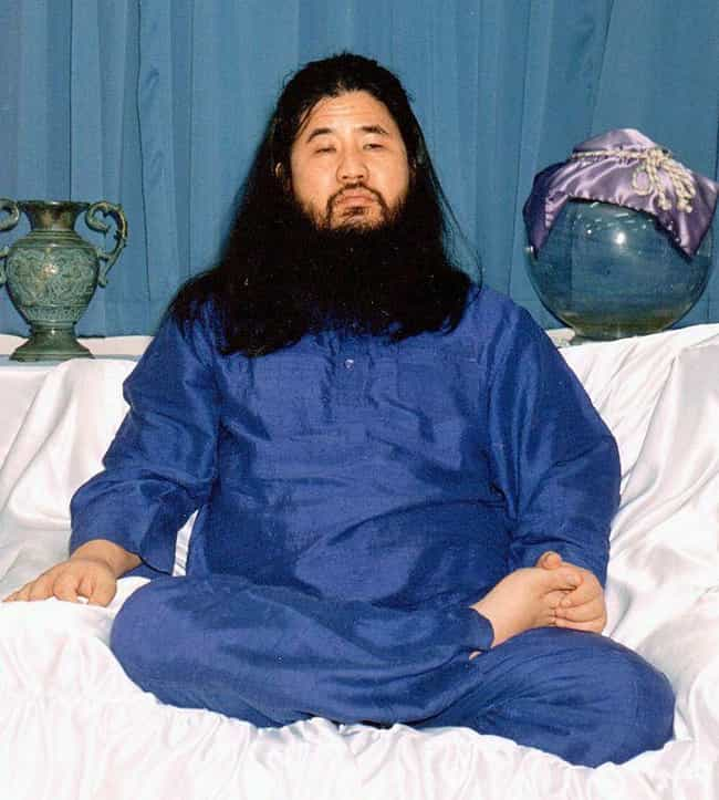 Shoko Asahara is listed (or ranked) 2 on the list Famous Male Religious Leaders