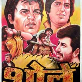 Sholay is listed (or ranked) 1 on the list Roger's Top 250+ Classic Epic Movies