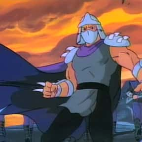 Shredder is listed (or ranked) 1 on the list The Best Teenage Mutant Ninja Turtles Characters