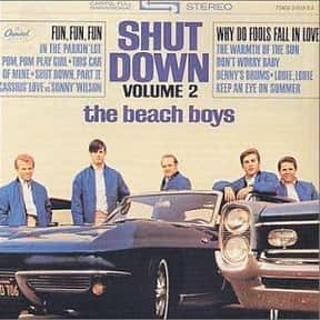 Shut Down, Volume 2 is listed (or ranked) 16 on the list The Best Beach Boys Albums of All Time