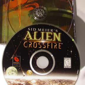 Sid Meier's Alien Crossfire is listed (or ranked) 10 on the list List of All Strategy Video Games