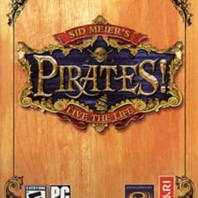 Sid Meier's Pirates! is listed (or ranked) 12 on the list List of All Strategy Video Games
