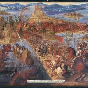Fall of Tenochtitlan is listed (or ranked) 16 on the list The Most Incredible Sieges of All Time