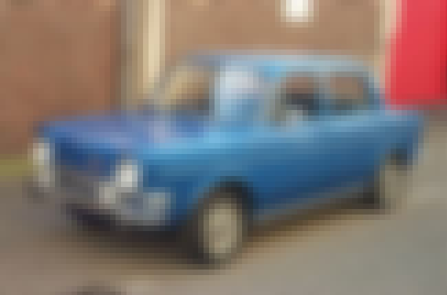 Simca 1000 is listed (or ranked) 2 on the list Full List of Simca Models