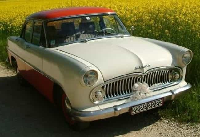 Simca Ariane is listed (or ranked) 4 on the list Full List of Simca Models