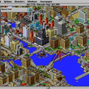 SimCity 2000 is listed (or ranked) 1 on the list List of All Simulation Video Games