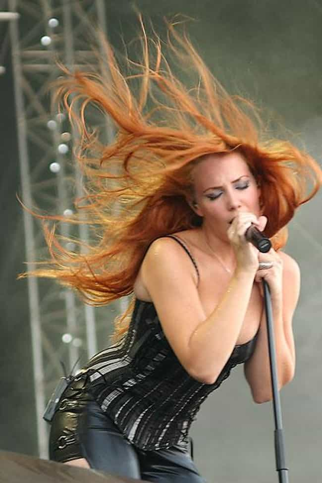 Simone Simons is listed (or ranked) 4 on the list Hottest Chicks In Metal and Punk