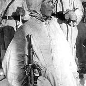 Simo Häyhä is listed (or ranked) 5 on the list If You Fought To The Death, Who Would You Want By Your Side?