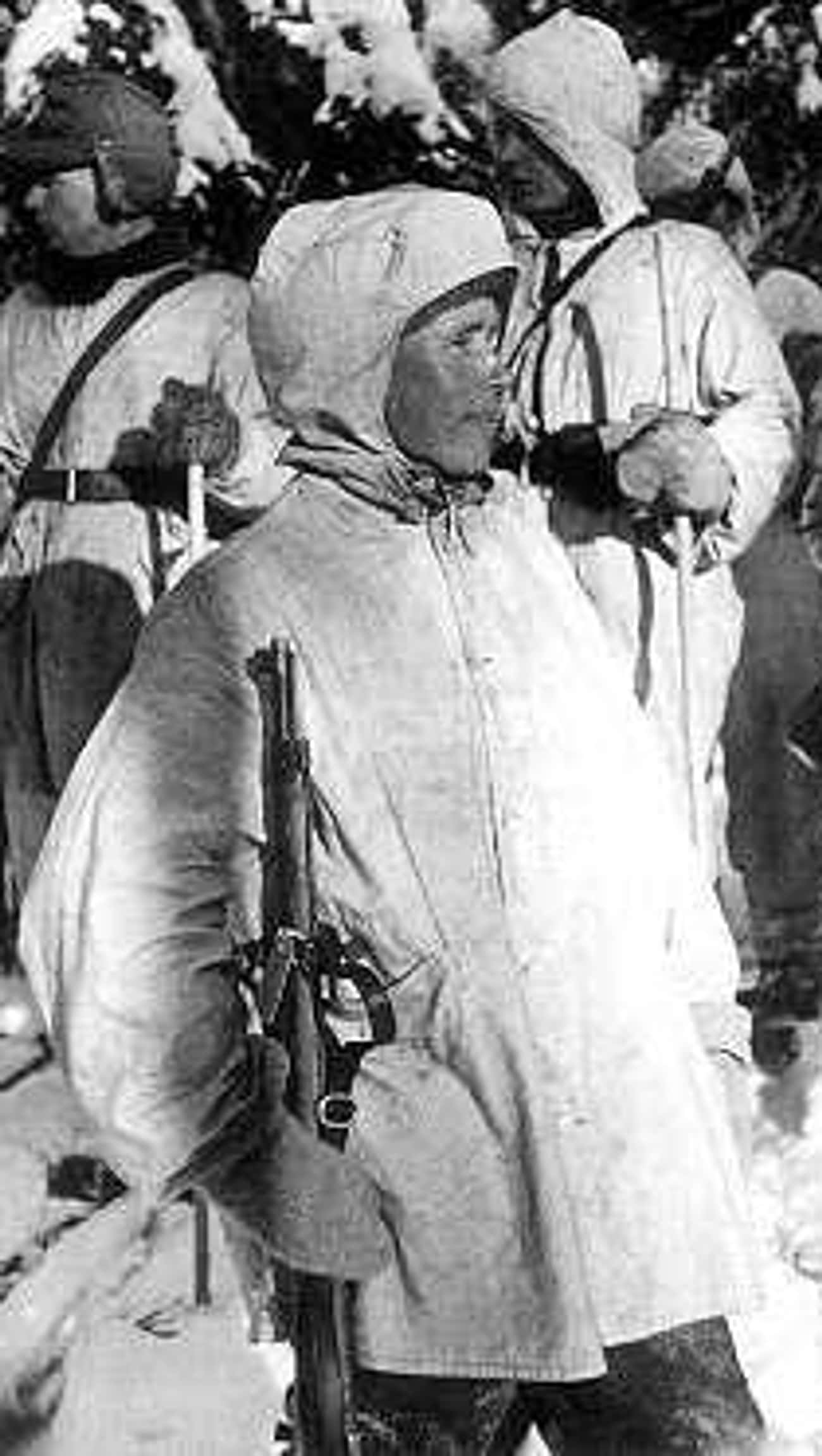 Simo Häyhä is listed (or ranked) 1 on the list The 30 Biggest Badasses In History