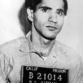 Sirhan Sirhan is listed (or ranked) 7 on the list Famous People From Israel