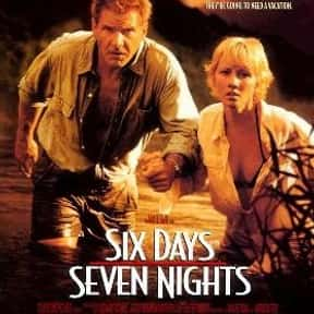 Six Days Seven Nights is listed (or ranked) 11 on the list Great Movies Set on the Beach
